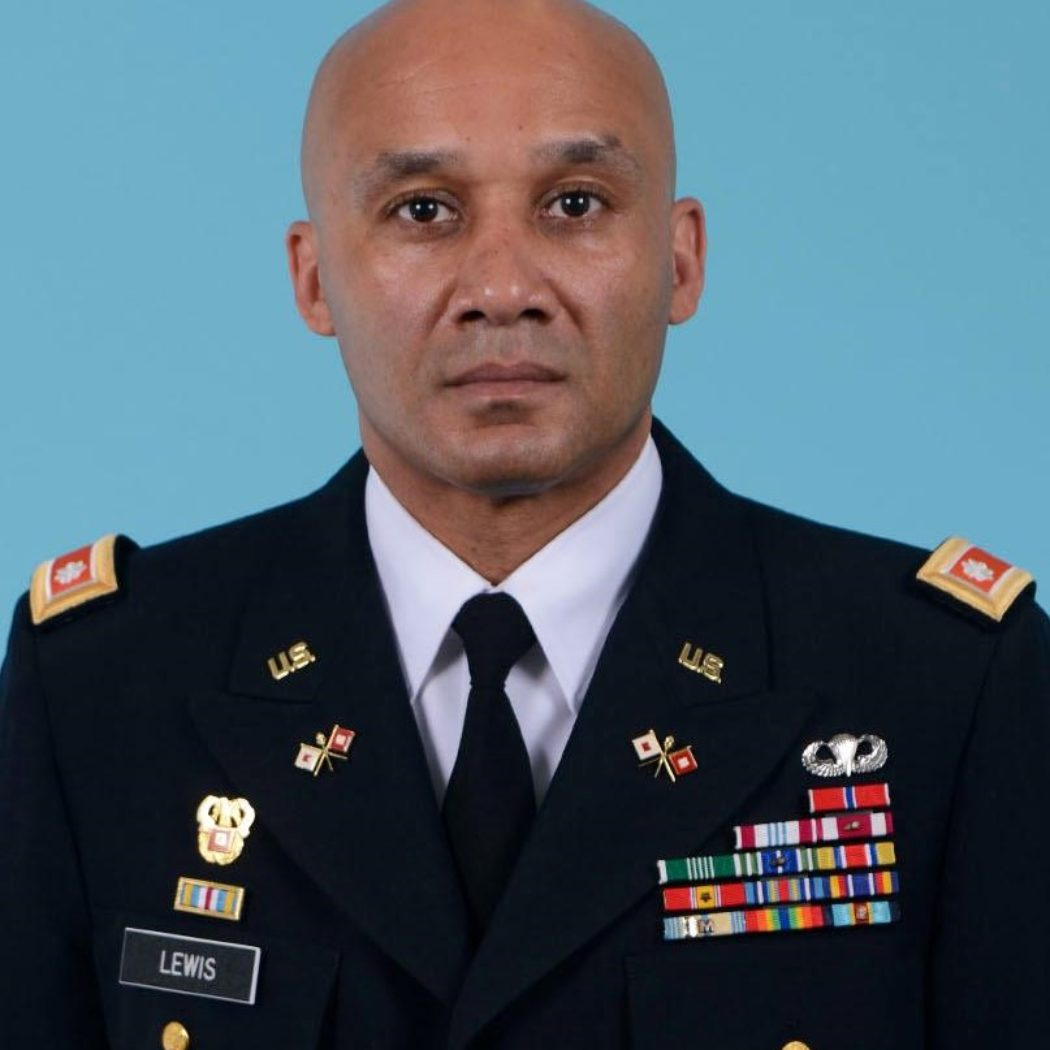 Lt. Col. Markus Lewis