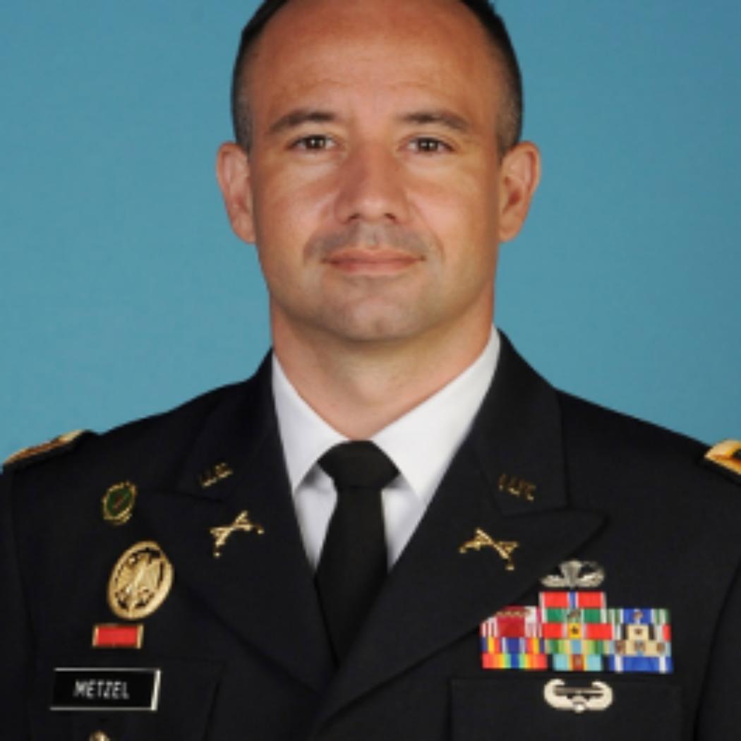 Lt. Colonel Matthew Metzel