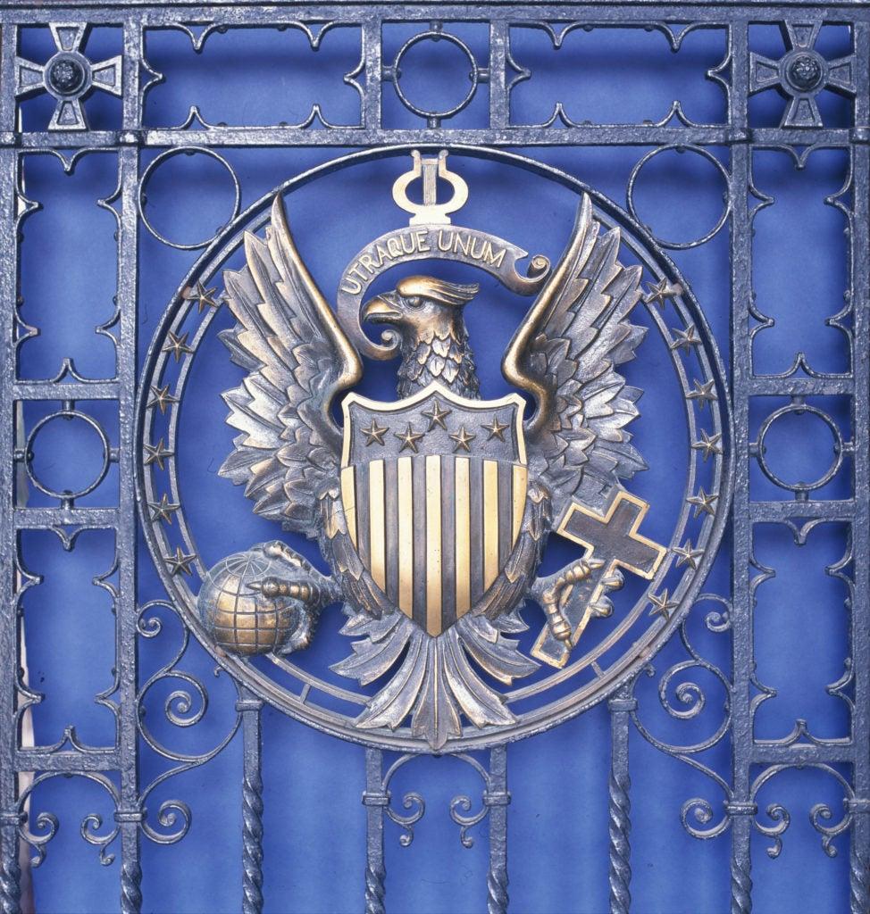 Healy Door Seal, Georgetown University