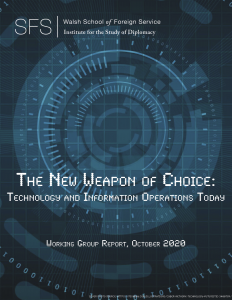 The New Weapon of Choice Technology and Information Operations Today