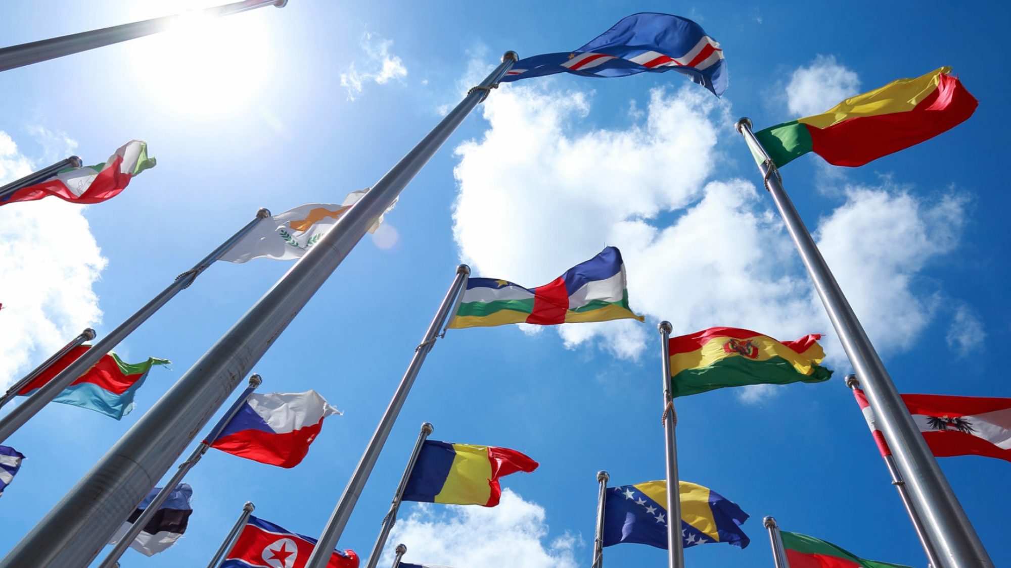 Flags and diplomacy