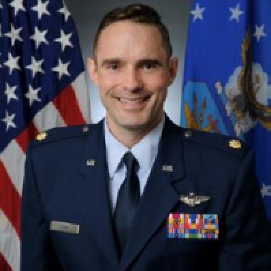 Headshot of Major Brian Cook