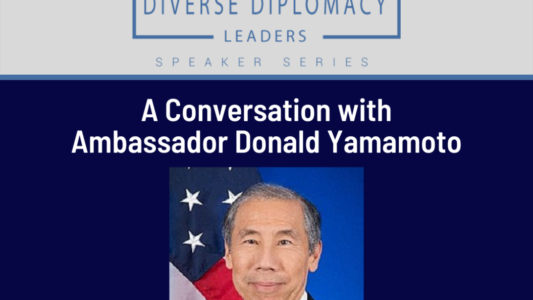 Promotion of Event with Ambassador Yamamoto happening October 26th at 12:00pm